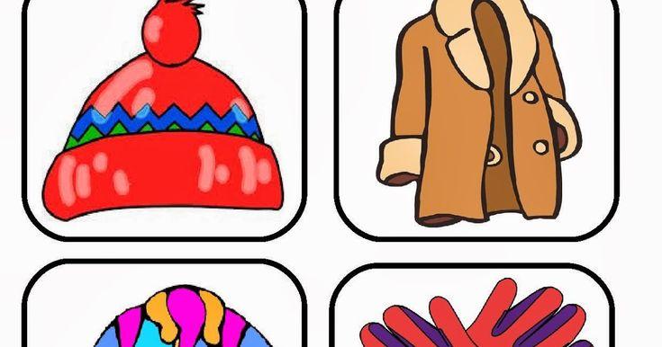 Καρτέλες με χειμωνιάτικα και καλοκαιρινά ρούχα     Δραστηριότητες που έγιναν στα   5ο - 7ο Νηπιαγωγεία Τυρνάβου ...