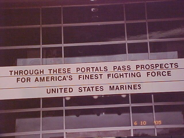 I walked thru those hatches at MCRD Parris Island SC