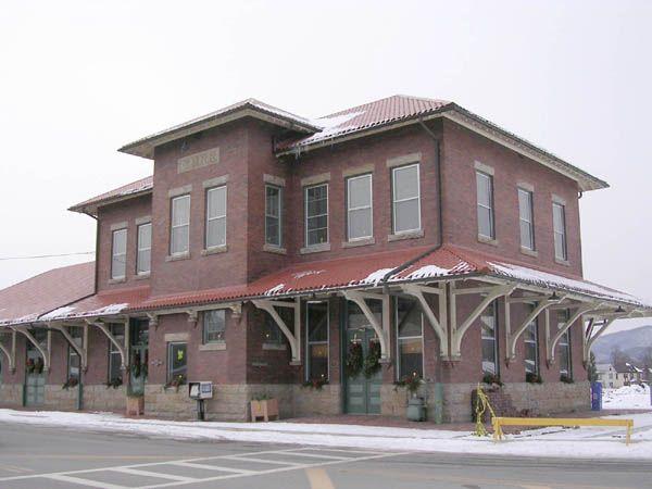 Elkins wv elkins railroad depot downtown elkins