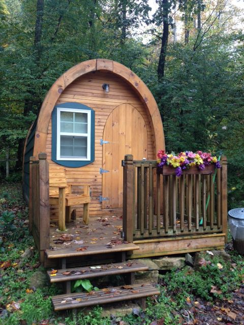 Tiny Cabins That Sleep Up To 4 People Catawba Falls