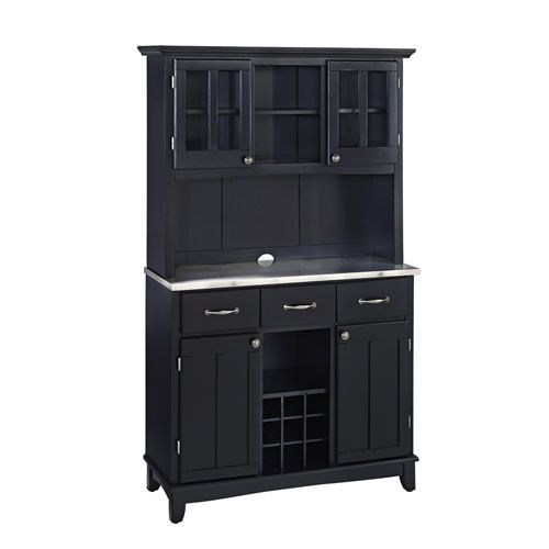 Black Wood Buffet Cabinet ~ Best black buffet ideas on pinterest wine decor for