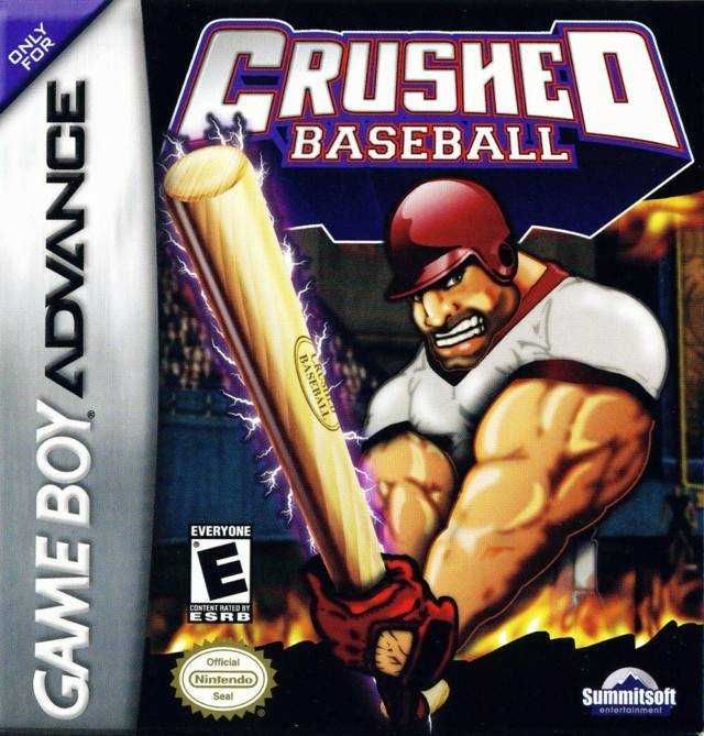 Crushed Baseball Nintendo Game Boy Advance Gameboy Game Boy Advance