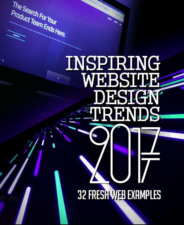 32 New Trend Website Design Examples