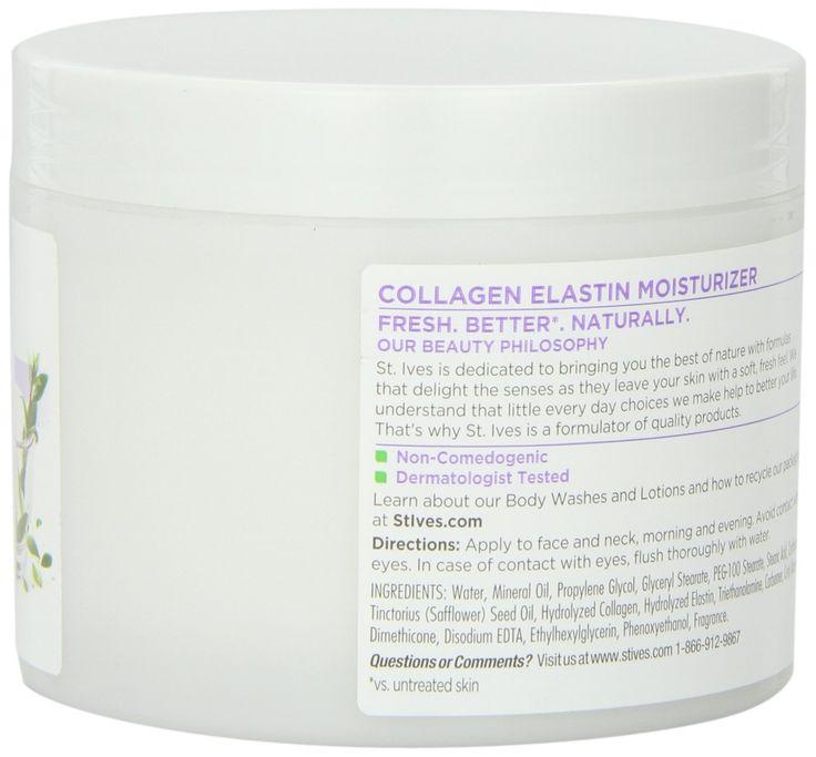 Renewing Collagen Elastin Moisturizer by st ives #10
