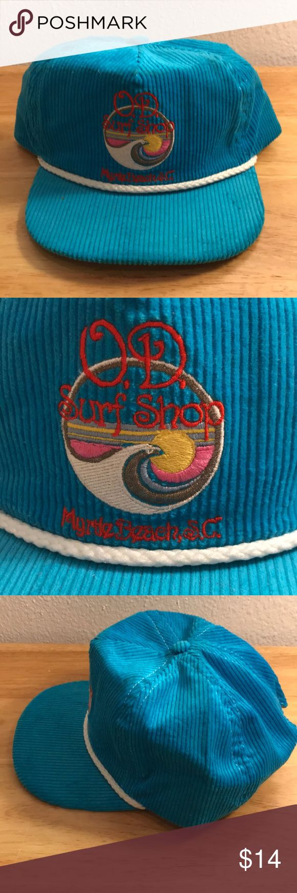 Vintage OD Surf Shop Corduroy Hat Vintage OD Surf Shop Corduroy Hat, Brand New, Never Worn or Used, 🎄WILL SHIP IN ONE DAY🎄All bundles of 2 or more receive 20% off. Closet full of new, used and vintage Vans, Skate and surf companies, jewelry, phone cases, shoes and more. Accessories Hats
