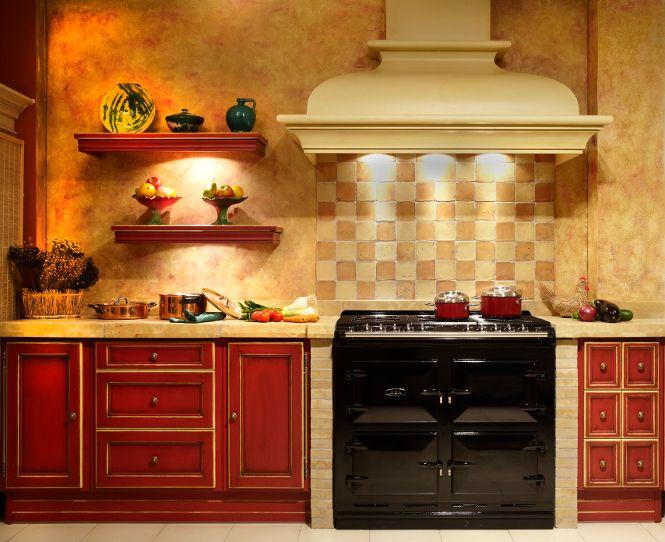 Campanas de madera cocinas rusticas cocinas de madera - Campanas para cocinas ...