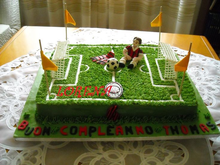 LE TORTE DI LORENA E NON SOLO Torta Campo Di Calcio Per  cakepins.com