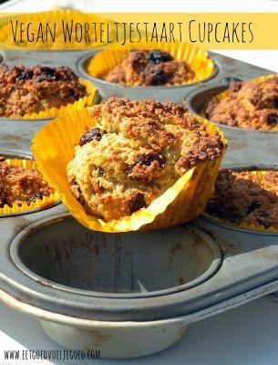 Eet goed, Voel je goed: Worteltjestaart Cupcakes - Graanvrij & Vegan