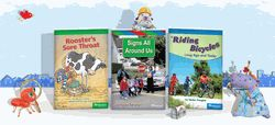 Storytown Below Level Reader 5-Pack Grade 1 Look OutMack by Houghton Mifflin Harcourt (9780153573910)