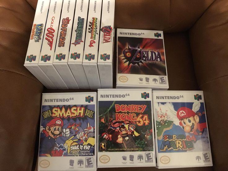 My Custom N64 RoseColoredGaming Custom cases arrived!