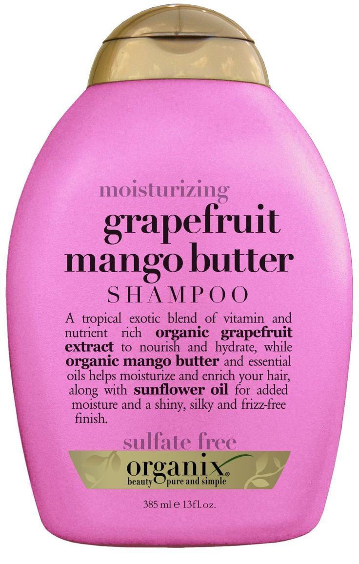 OGX Shampoo, Moisturizing Grapefruit Mango Butter