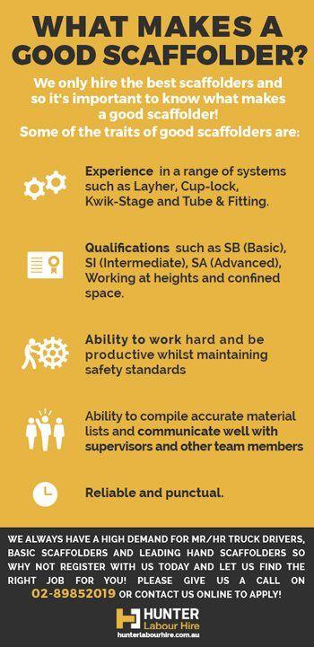 What Makes A Good Scaffolder - Scaffolding Jobs Sydney