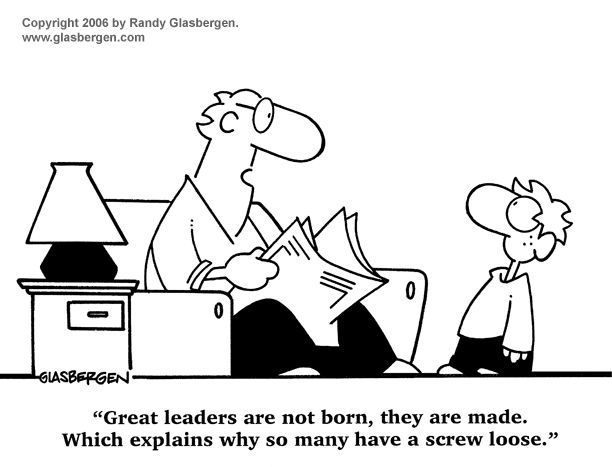 Great Leadership: In History and Today's Tech Organizations | Business  cartoons, Leadership, Leadership activities