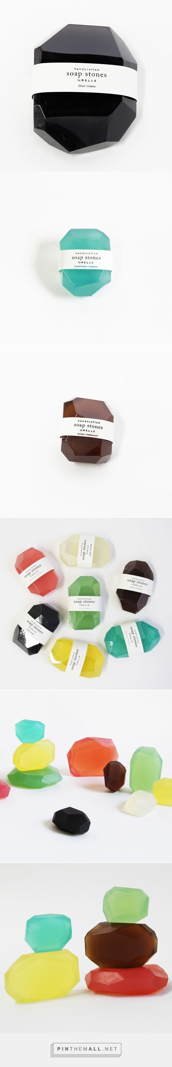 Pelle Soap Stones — The Dieline - Branding & Packaging