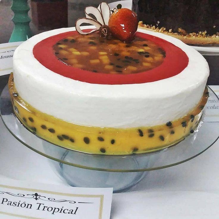 Pasión tropical parchitamango fresa coco y un crujiente de galletas francesas a…