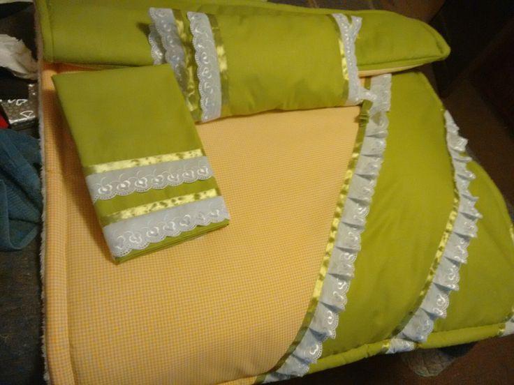Juego de sabanas y cobertor   cuna