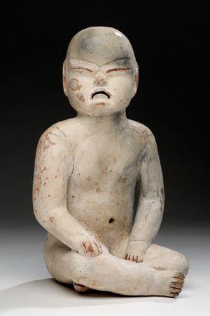 Museo de Historia Mexicana - Cultura Olmeca,preclasico medio.Arcila