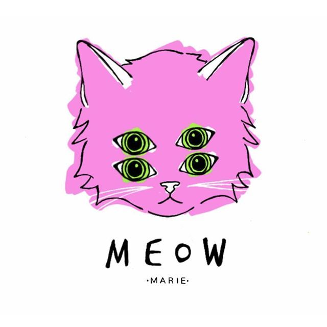 - M E O W -  a portrait of my beloved Cat , blue the cat ♥♥♥ | weekly illustration | . . . #marieilustracion #cat #catillustration #pinkcat #kitty #illustration #inktober #ink #ilustración #gato #meow #drawing #autodesksketchbook #weeklyillustration #Monday #catlovers #insta #love #daylyquote #illustrationoninstagram