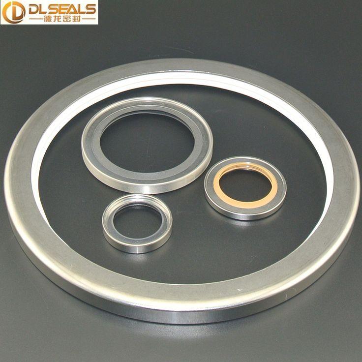 Vacuum Pumps PTFE Stainless Steel Double Lip Oil Seals