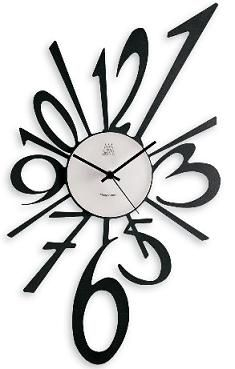 Unique Modern Wall Clock with an Explosive Flair | Home Interior Design Themes