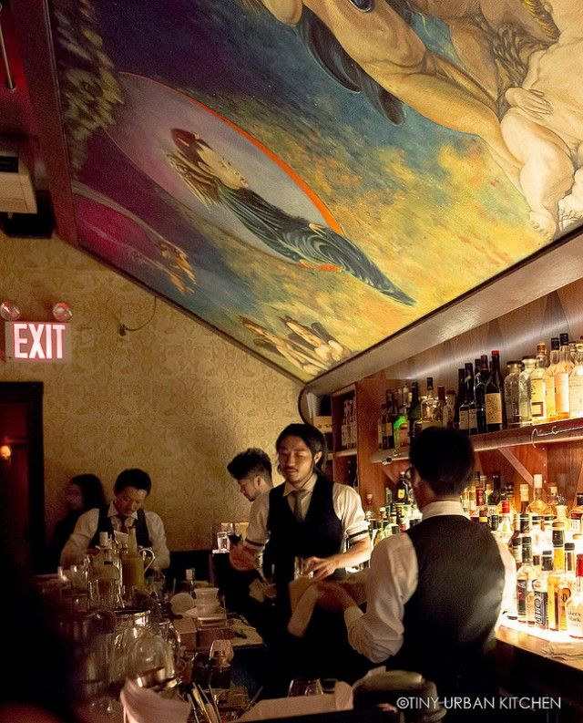 Japanese speakeasy: Angel's Share in New York