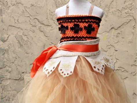 Moana - cumpleaños del tema de Moana - Moana cumpleaños fiesta vestido - fiesta temática de Hawaii - Vestido de Luau