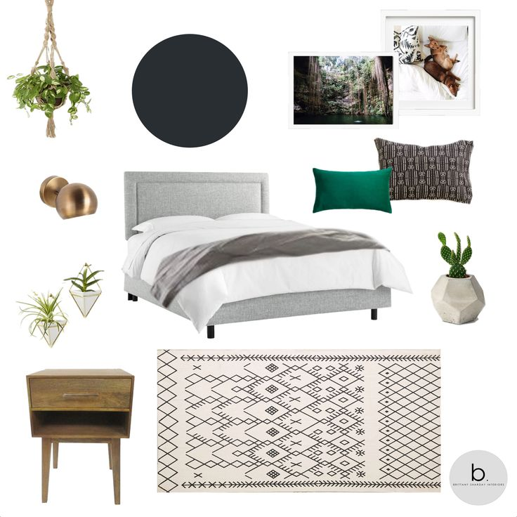 brittany sharday interiors dark modern california boho bedroom in oregon target urban outfitters