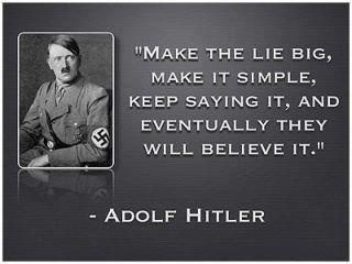 I see the same pattern today as what this despicable man did.  I vetted this and he did say it.