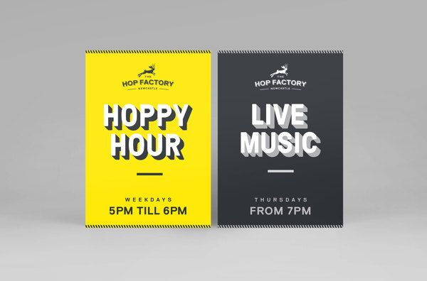 The Hop Factory by Pennant, via Behance