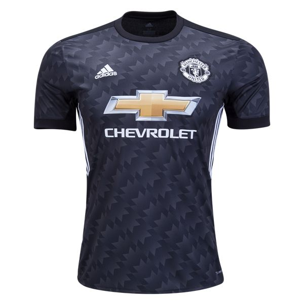 Manchester Utd Away Soccer Jersey 17/18 This Manchester United Away Football Shirt for 2017 2018. The Manchester United 2017-18 away kit introduces a heritage-infused look for the Premier League giants. A beautiful black design and featuring Chevrolet's logo on the chest, the Manchester United 17-18 away shirt is the first Man Utd jersey to be released this […]