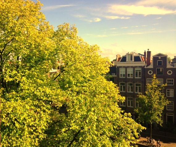 A very goodmorning from Kathryn Milan HQ  #amsterdam #office #view #summer #designer #work #hq #fashion