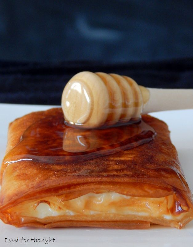 Φέτα τηγανητή με μέλι και σουσάμι | Food for thought | Bloglovin'