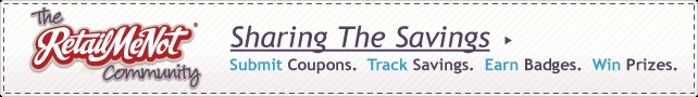 Printable coupons, grocery coupons, online coupon codes. Join the RetailMeNot Community