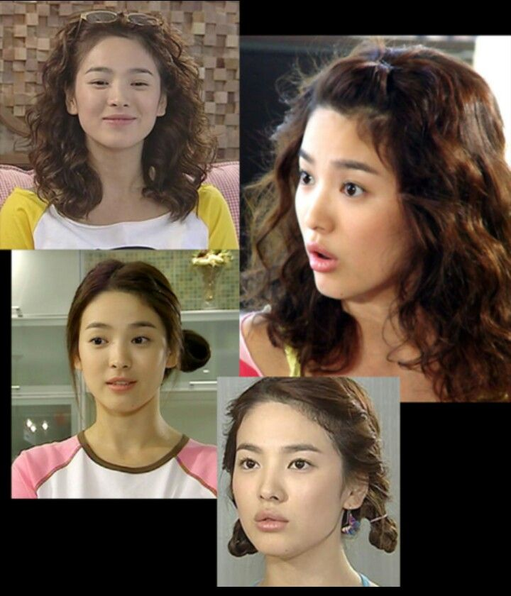 Song hye kyo curly hair full house the for Beauty full house