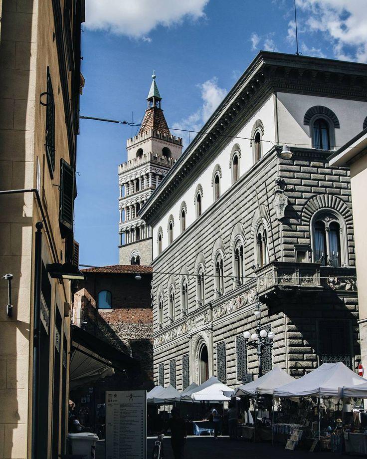 "Agnieszka | Poland | (@milkaa007) on Instagram: ""#holiday #italy #toscana #tuscany #pistoia #tower #church #street #sun #sunny #day #architecture…"""