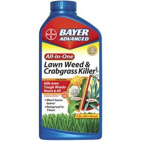 BAYER ADVANCED 32-oz All-In-One Lawn Weed & Crabgrass Killer