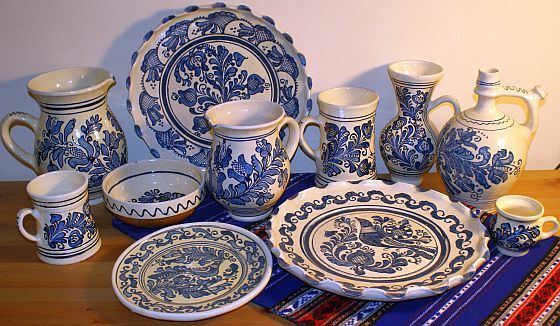 Traditional Romanian ceramics.