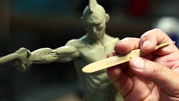 Sculpture Techniques - How to Sculpt a Maquette - PREVIEW - Video Tutori...