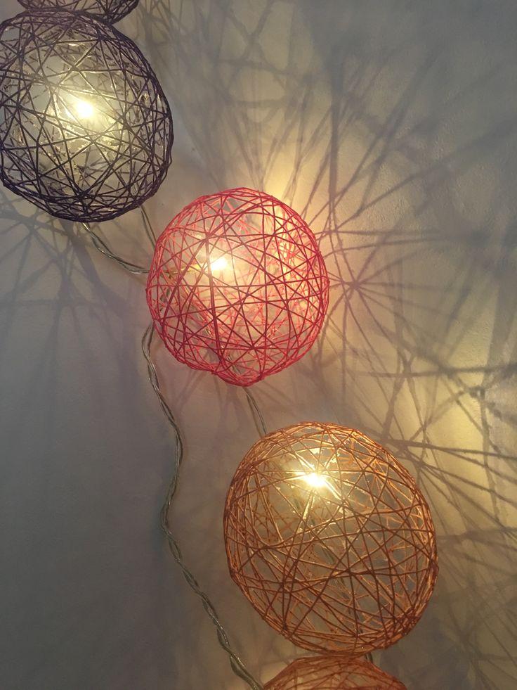 Les 25 Meilleures Idées De La Catégorie Guirlande Lumineuse Boule