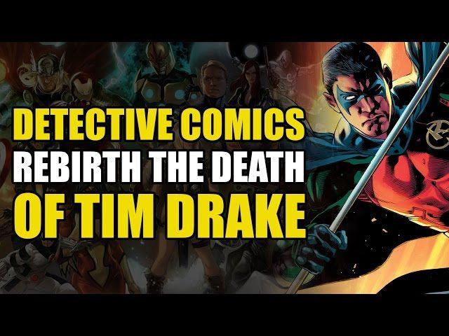 DC Rebirth: Detective Comics Rebirth - The Death Of Tim Drake - Video --> http://www.comics2film.com/dc-rebirth-detective-comics-rebirth-the-death-of-tim-drake/  #StaffPicks