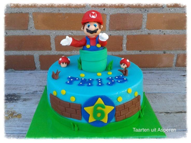 Mario Bros taart