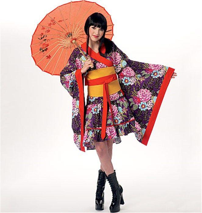 yli tuhat ideaa: deguisement japonais pinterestissä   kimono femme