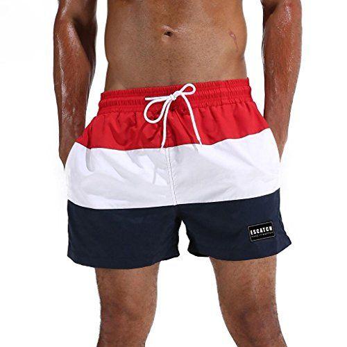 c5fa3ea0cbc Arcweg Homme Short de Bain Bermuda Séchage Rapide Garçons Court de Plage  Sport Natation Casual 12