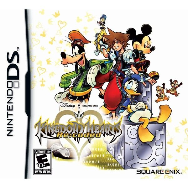 Amazon.com Kingdom Hearts Re coded (26 AUD) ❤ liked on Polyvore featuring games