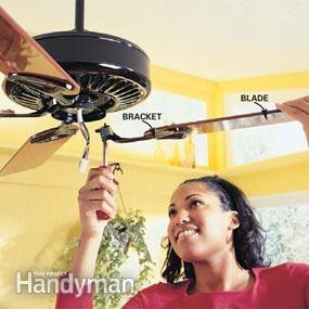 Photo 11: Attach the fan blades