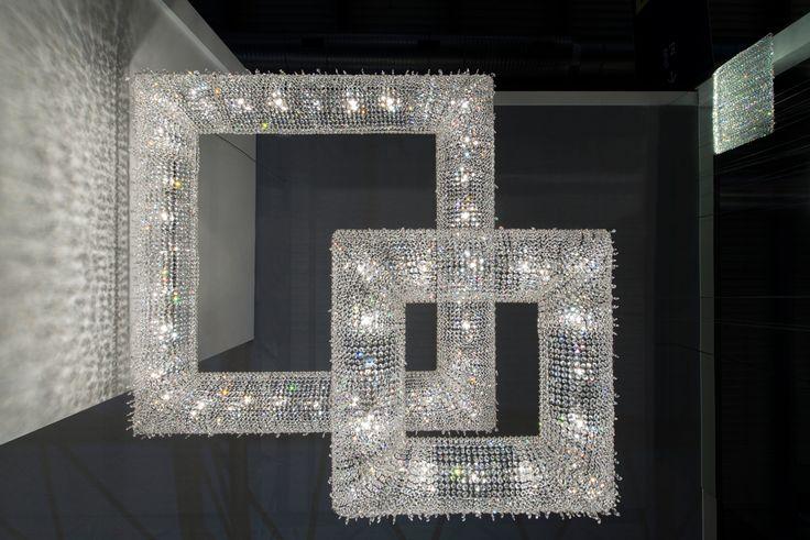 Koi crystal chandelier #Manooi #Chandelier #CrystalChandelier #Design #Lighting #Koi #luxury #furniture