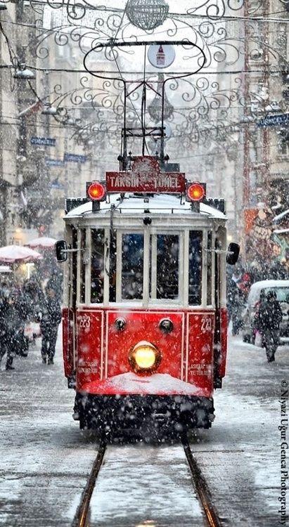 Istanbul cable car by © Niyazi Uğur Genca, Istanbul Photographer, via niyaziugurgenca.com