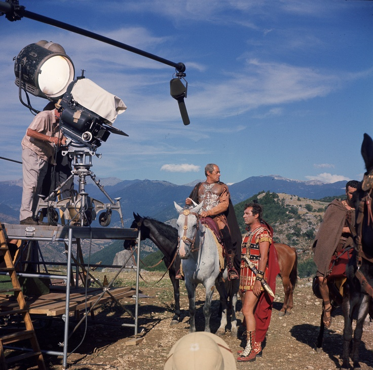 Cleopatra behind-the-scenes