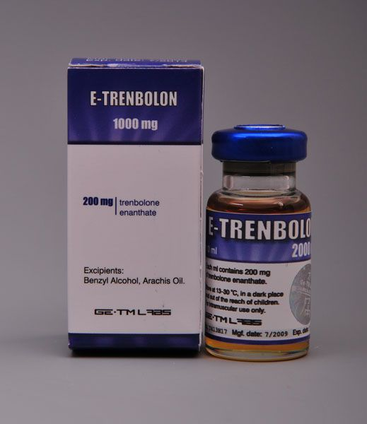 #ETrenbolon200mg is the product name of #TrenboloneEnanthate. It is produced by the GE-TM Labs. It is an injectable ester of #testosterone. Generally, E-Trenbolon 200 is long acting steroid that produces massive new #muscle fibers. It does not able to convert into estrogen. This steroid is also effective in nitrogen retention and #protein synthesis. Click on the image for more information.