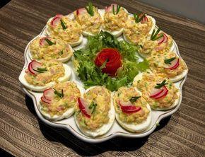 Wielkanocne jajka faszerowane - Blog z apetytem